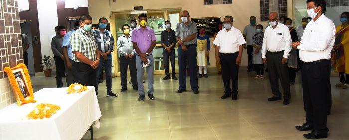 Tribute to SAIL Director_Personnel Atul Srivastava