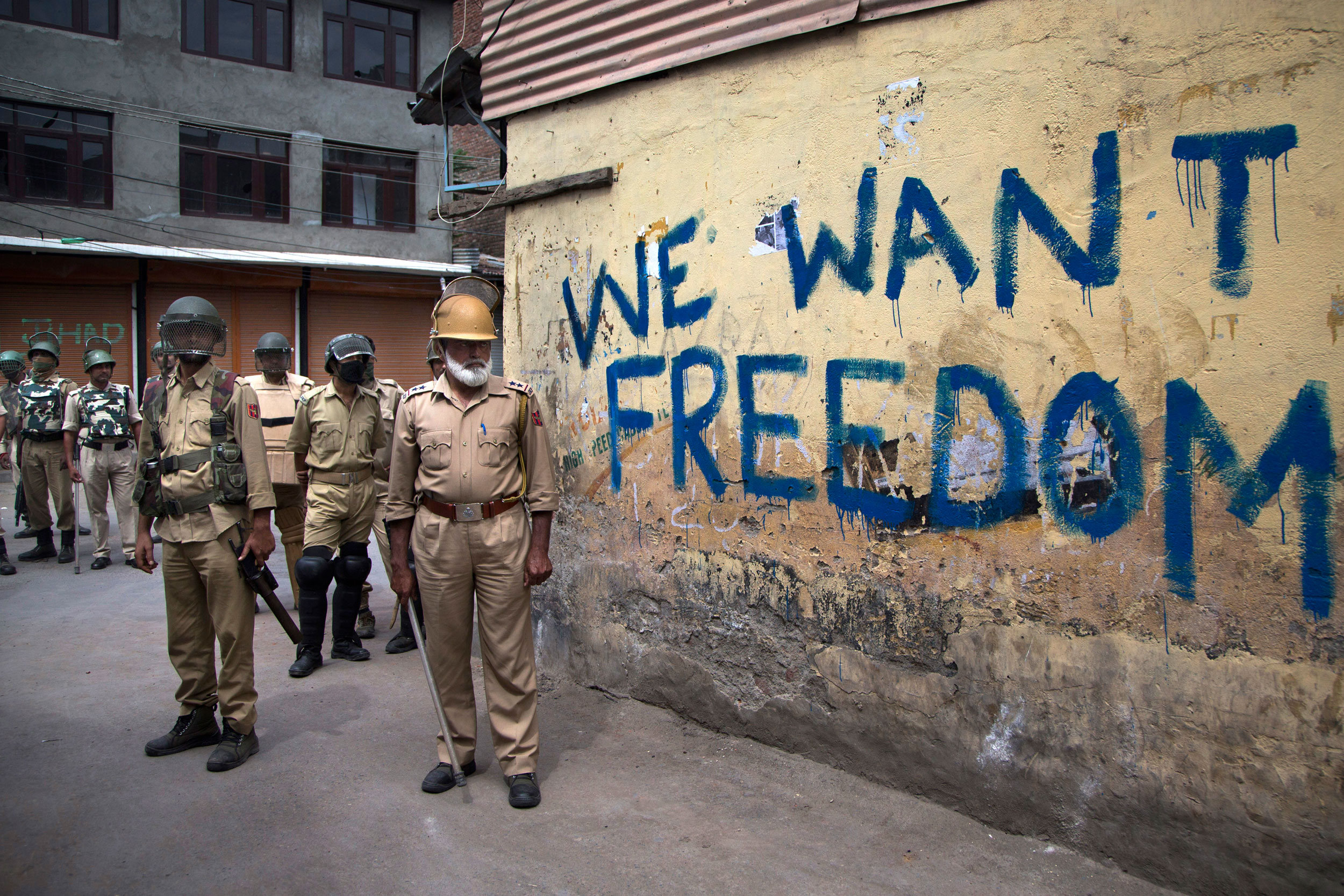 A large part of Kashmir remains under curfew since August 6, when the union government abrogated Article 370 and moved the bill to bifurcate the state into two.