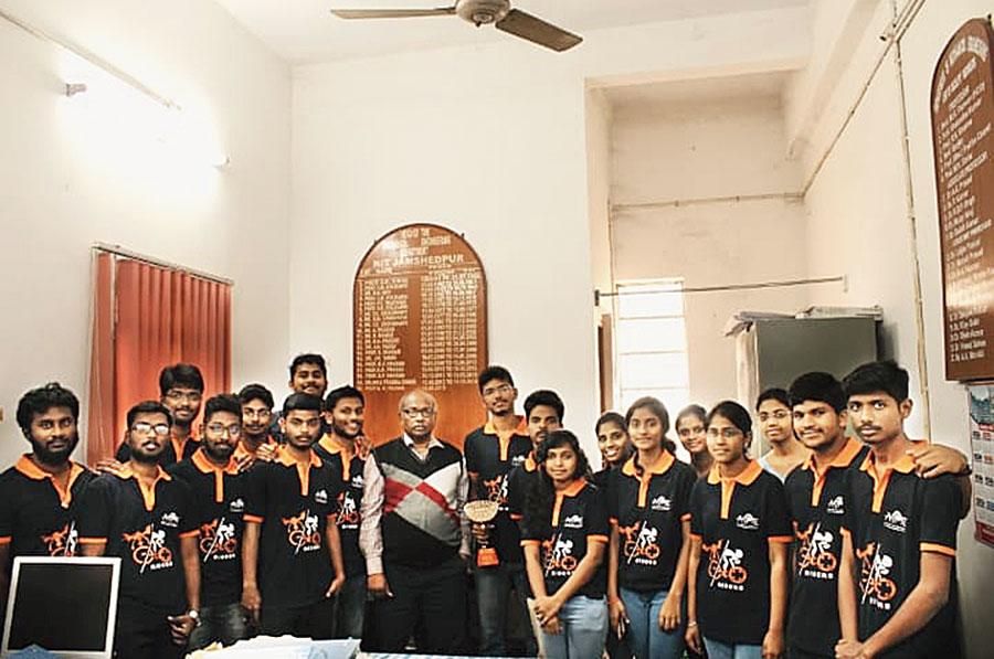 The Team Ecoriders of NIT Jamshedpur.