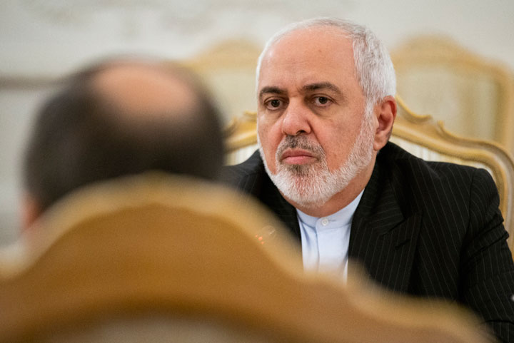 Iranian foreign minister Mohammad Javad Zarif declared that 'targeting cultural sites is a war crime'