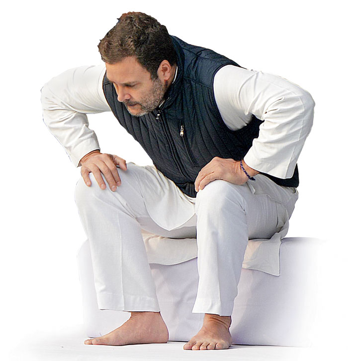Rahul Gandhi himself seems unbothered by the what next