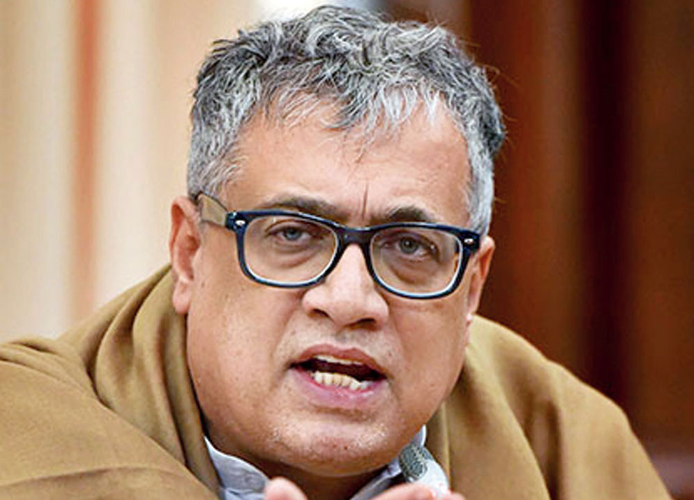 Chairman of the parliamentary standing committee on Civil Aviation and Trinamul MP Derek O'Brien at a press conference in New Delhi on Thursday, December 27, 2018
