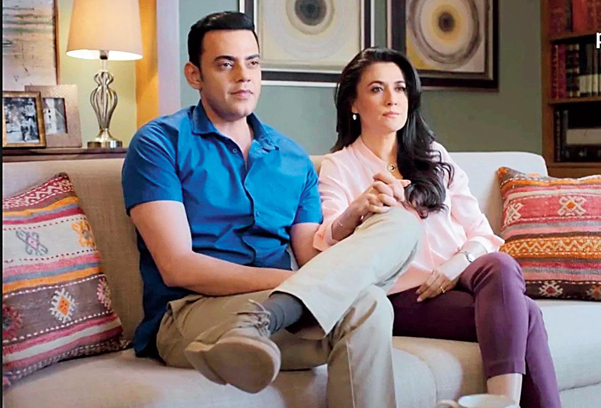 Cyrus Sahukar and Mini Mathur in 'Mind the Malhotras', now streaming on Amazon Prime