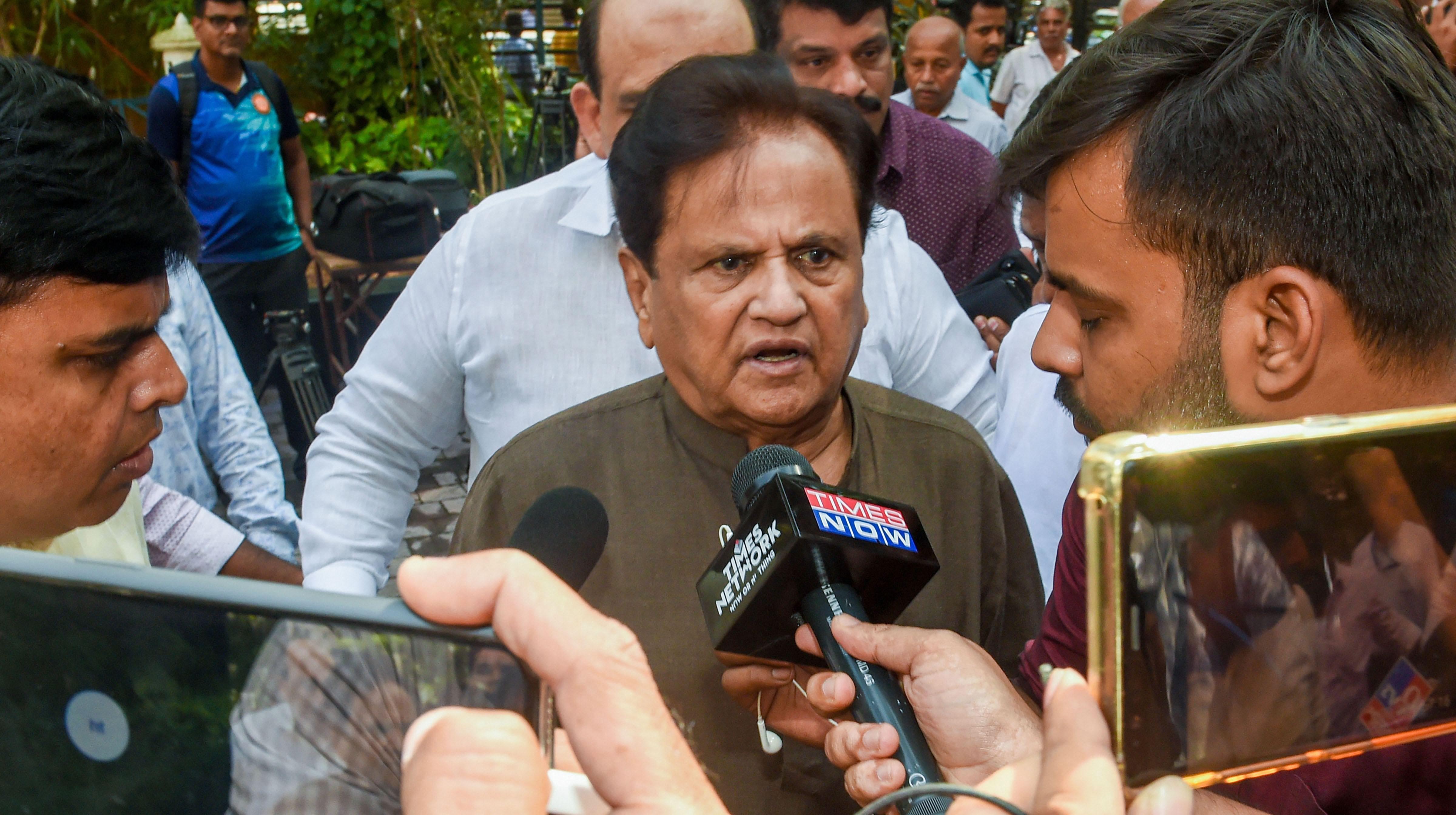 'Clandestine' swearing in of Fadnavis black day for Maharashtra: Ahmed Patel