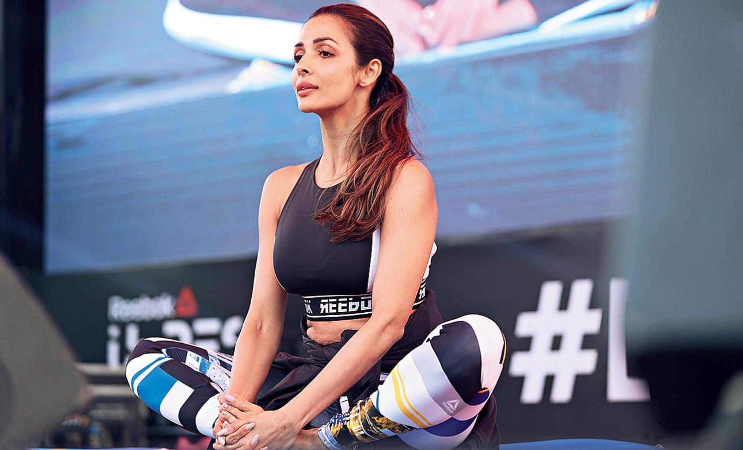 Malaika Arora talks fitness