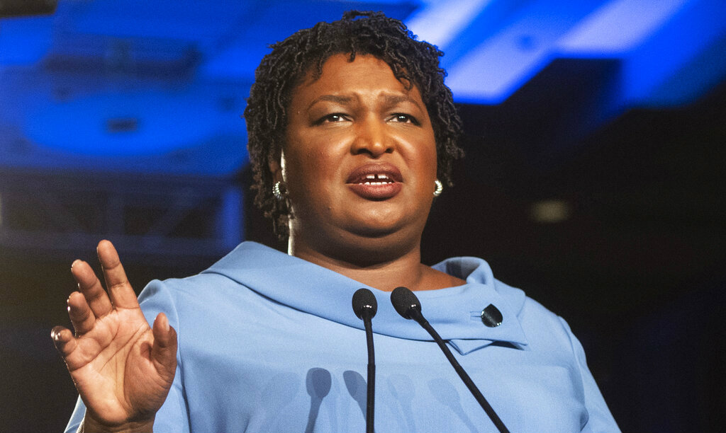 In Democratic response, Stacey Abrams tears Trump apart