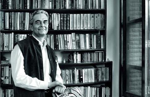 Novelist Upamanyu Chatterjee