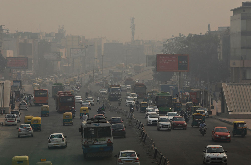 According to the Environment Pollution Control Authority, vehicles contribute 40 per cent of the total emission load in Delhi