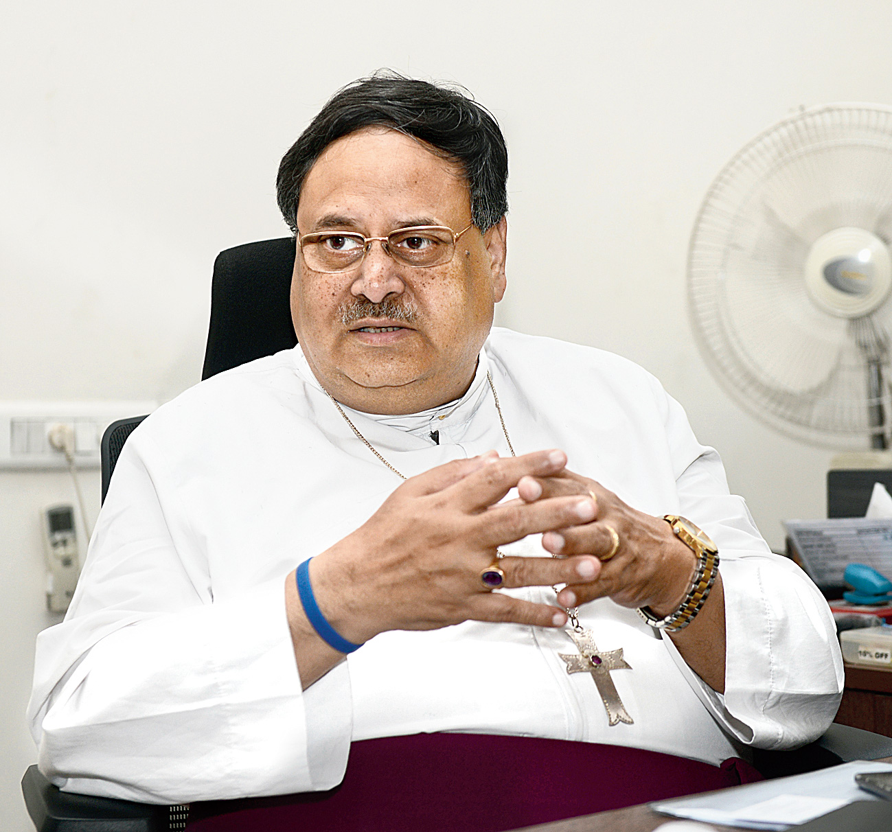 Probal Kanto Dutta, Bishop of the Calcutta diocese of the Church of North India.