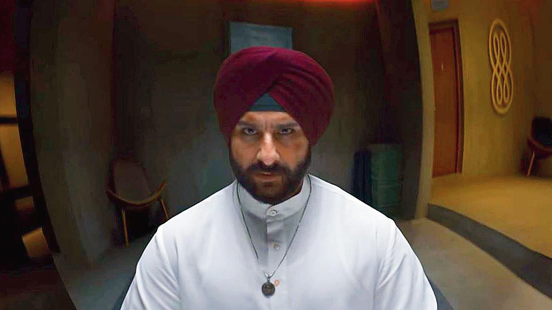 Saif Ali Khan in Sacred Games 2