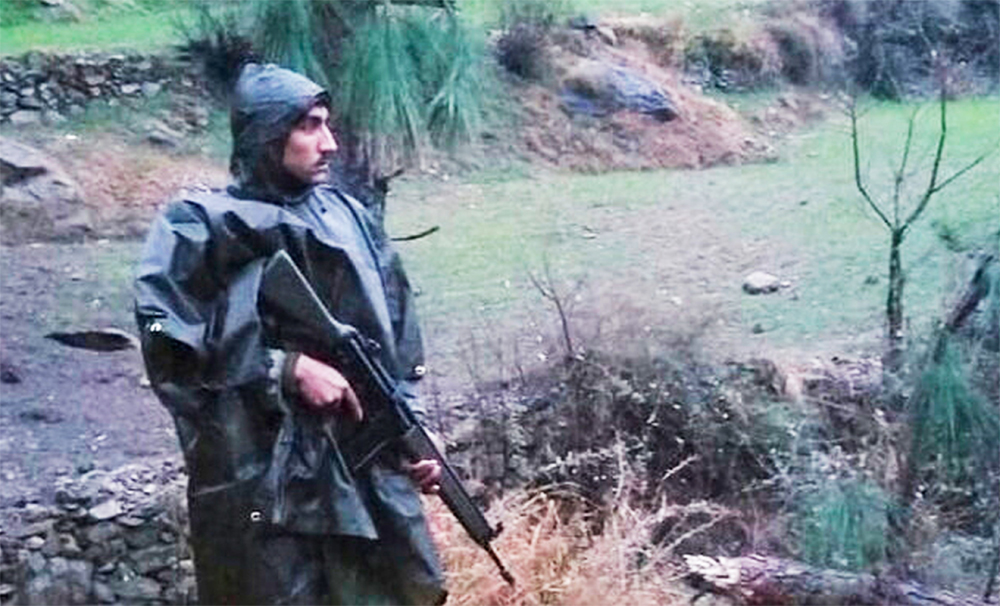 A Pakistani soldier stands guard after the Balakot air strike, on February 26, 2019. The accordance of centrality to the sovereignty of the people over every segment, including the armed forces, differentiates India from Pakistan
