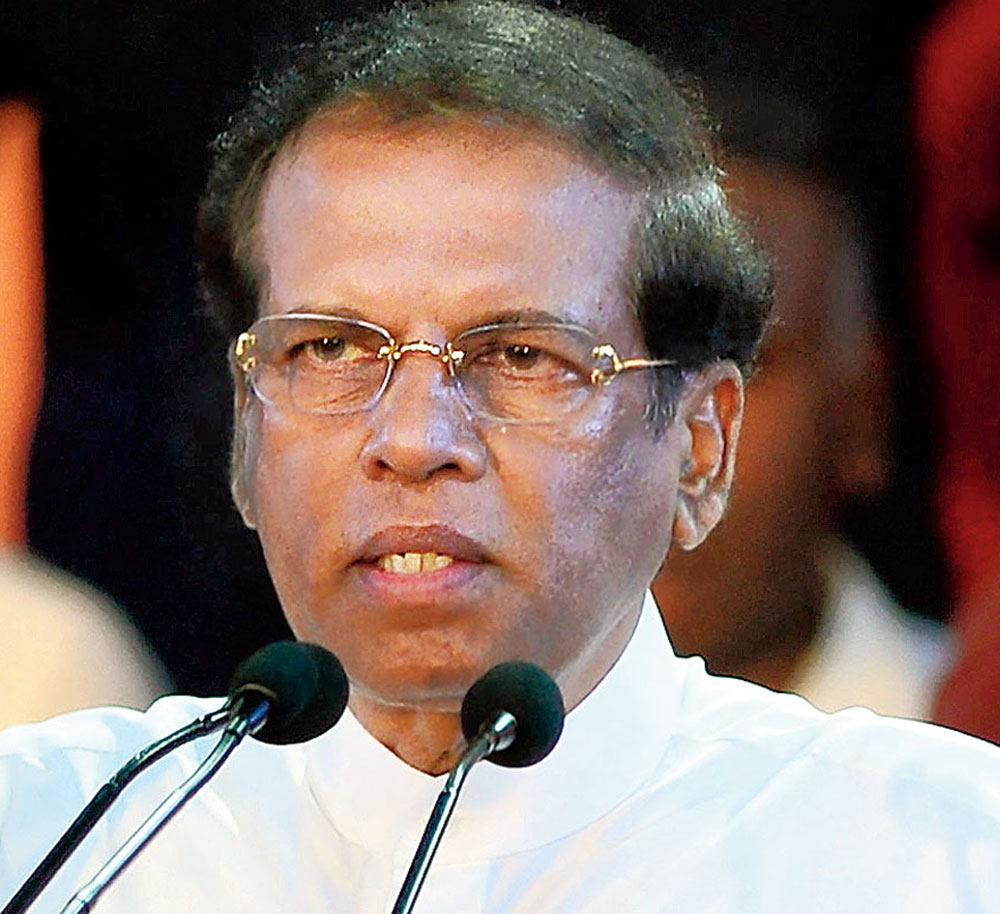 Sirisena stoutly defended his move to dissolve parliament, saying it was taken to prevent clashes among rival lawmakers