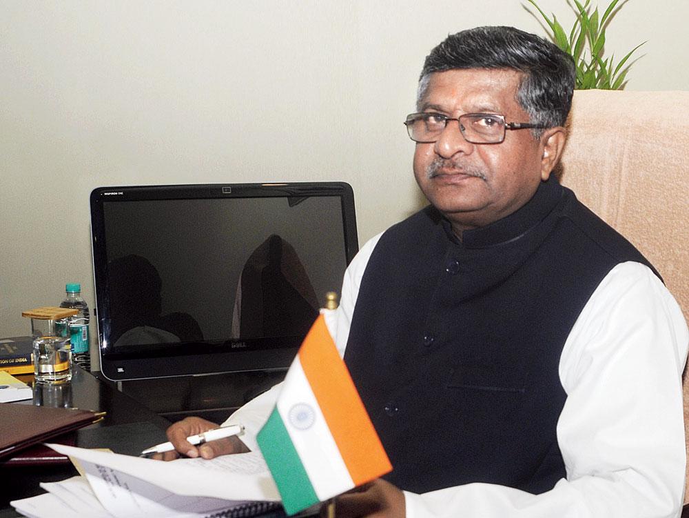 All set to win: Union minister Ravi Shankar Prasad