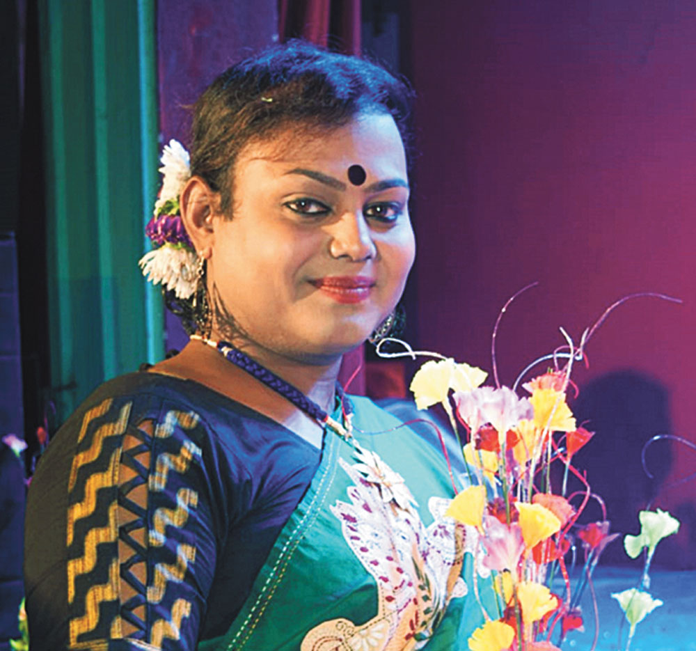 Sintu Bagui is one of the first transgenders to become a Lok Adalat judge in Bengal's Serampore district