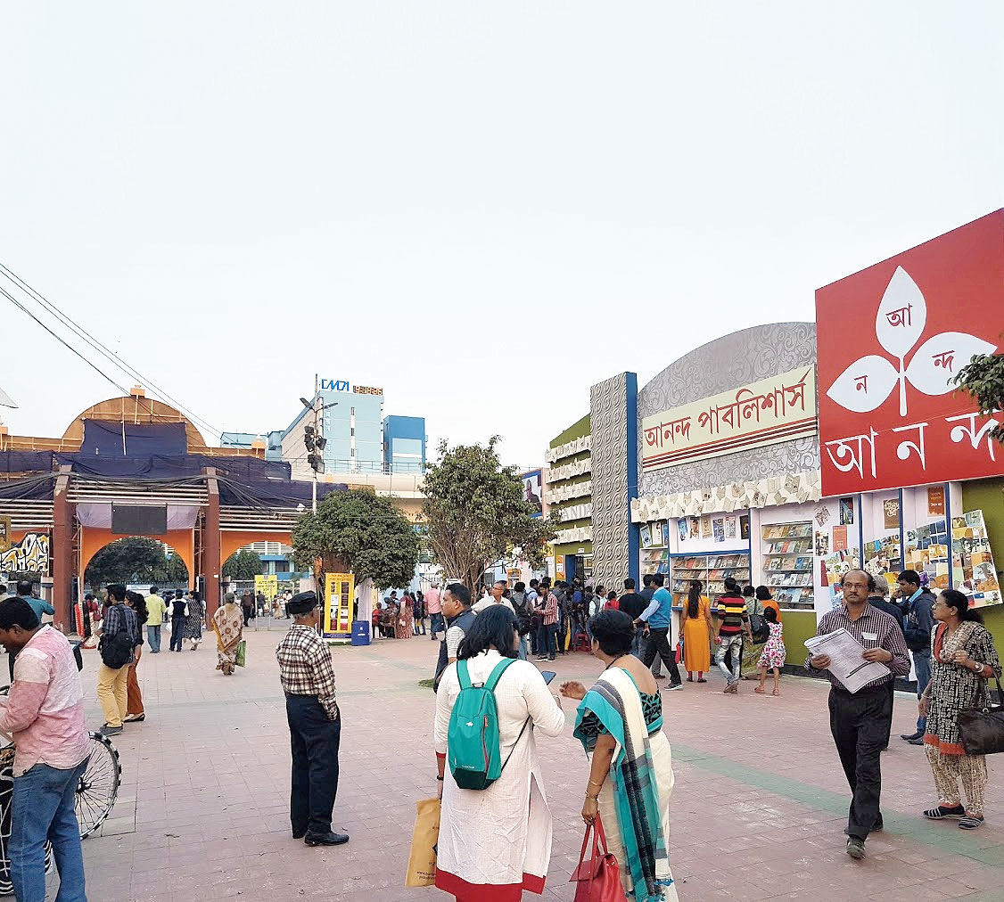 A file picture of the book fair last year at Central Park fairground