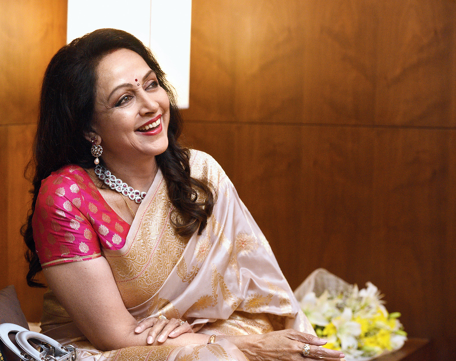 Hema Malini Is In No Mood To Slow Down Telegraph India