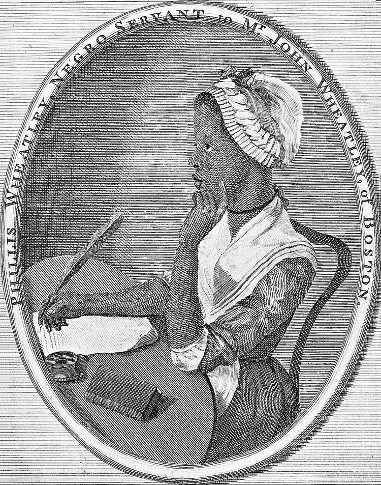 Phillis Wheatley's Poems on Various Subjects