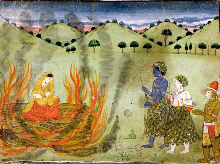 In the  'Ramayana', Sita had to prove her chastity by entering a pyre. Perhaps a pyre to simulate the 'agni pariksha' will soon be available online, along with artificial hymens and fake blood pills