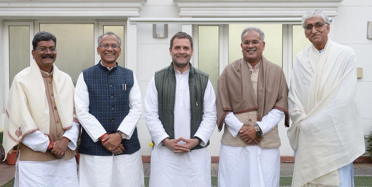Bhupesh Baghel chosen Chhattisgarh CM among 4 'equals'