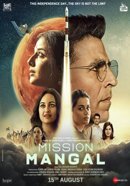 The upcoming Mission Mangal, about ISRO's Mars Mission