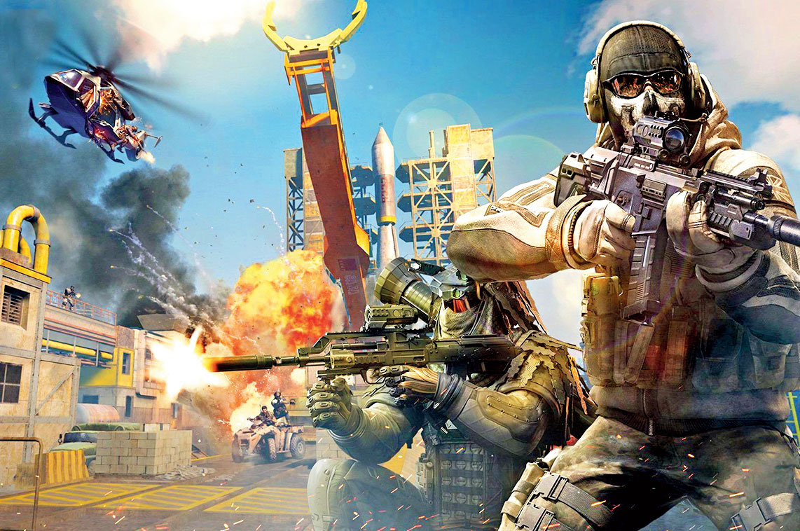 Game: Call of Duty Mobile by Activision; Genre: PvP shooter; Platforms: Android, iOS