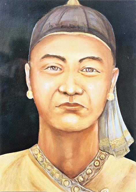 Ahom commander Lachit Borphukan.