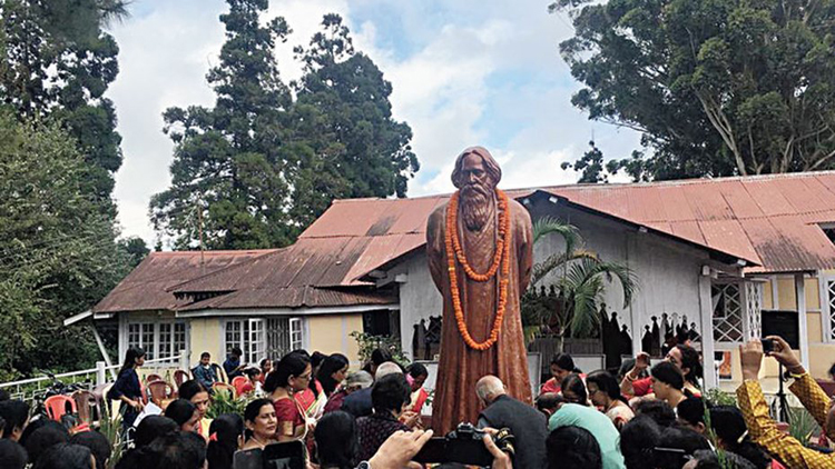 Celebrations on October 11 at Brookside, the house in Shillong where Rabindranath Tagore stayed a hundred years ago