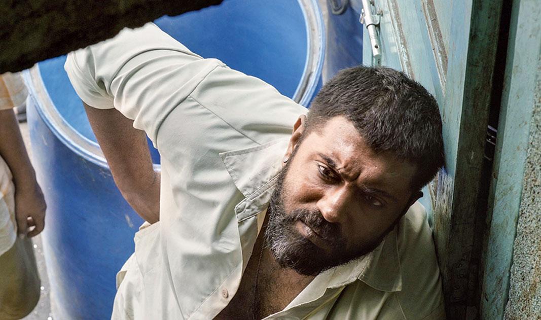 Nivin Pauly as Akbar in Moothon