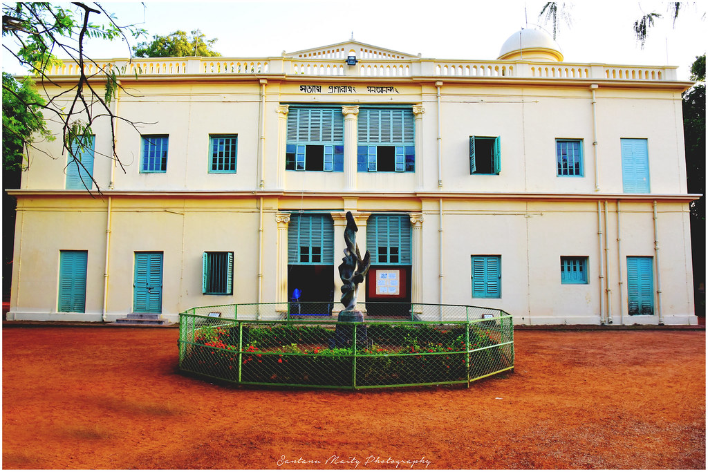"""To give space to a political organisation to promote saffronisation of the campus is unprecedented at Visva-Bharati,"" said Somnath Sow, the SFI unit secretary of the university."