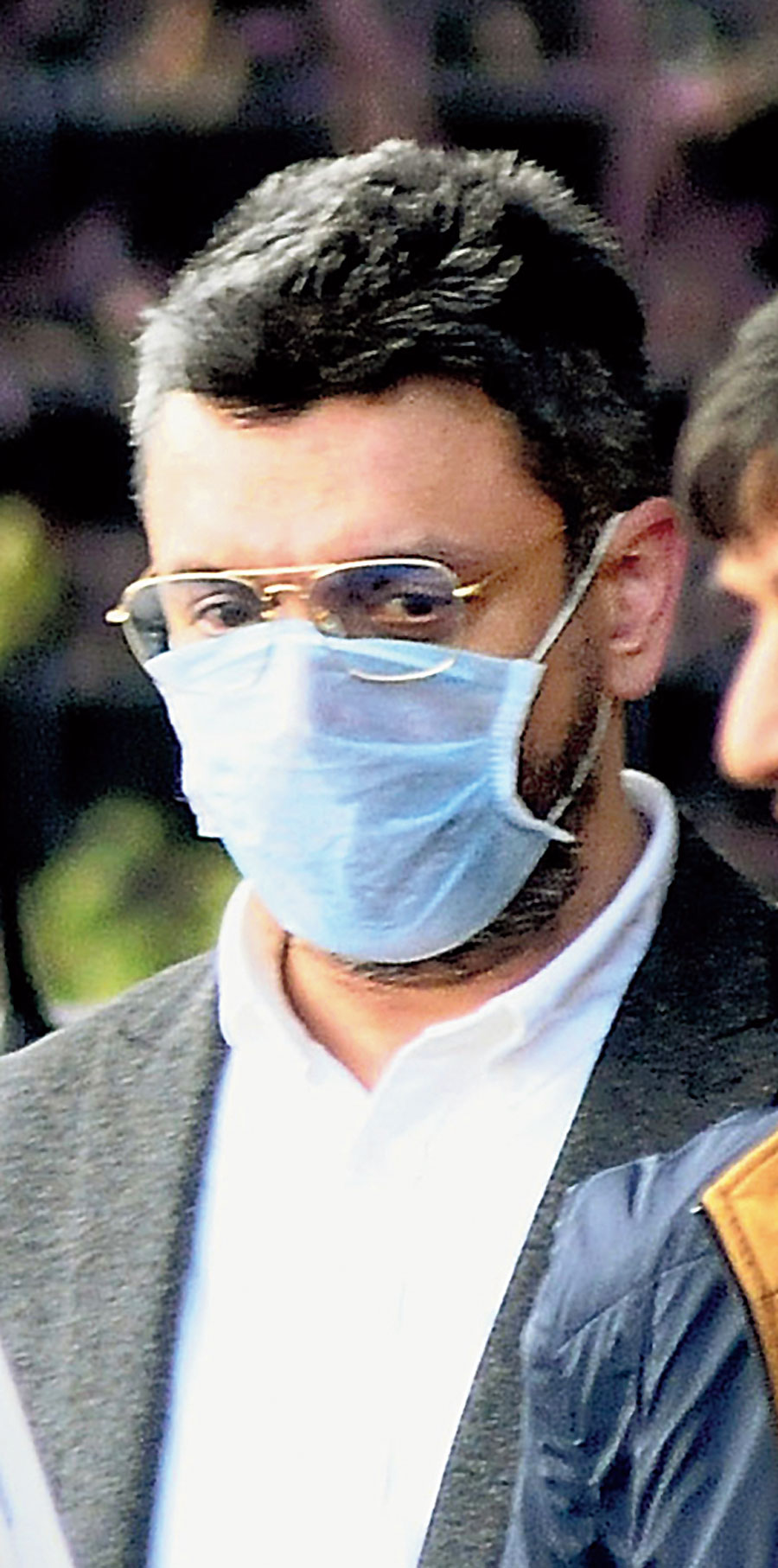 Sanjiv Chawla in New Delhi on Thursday.