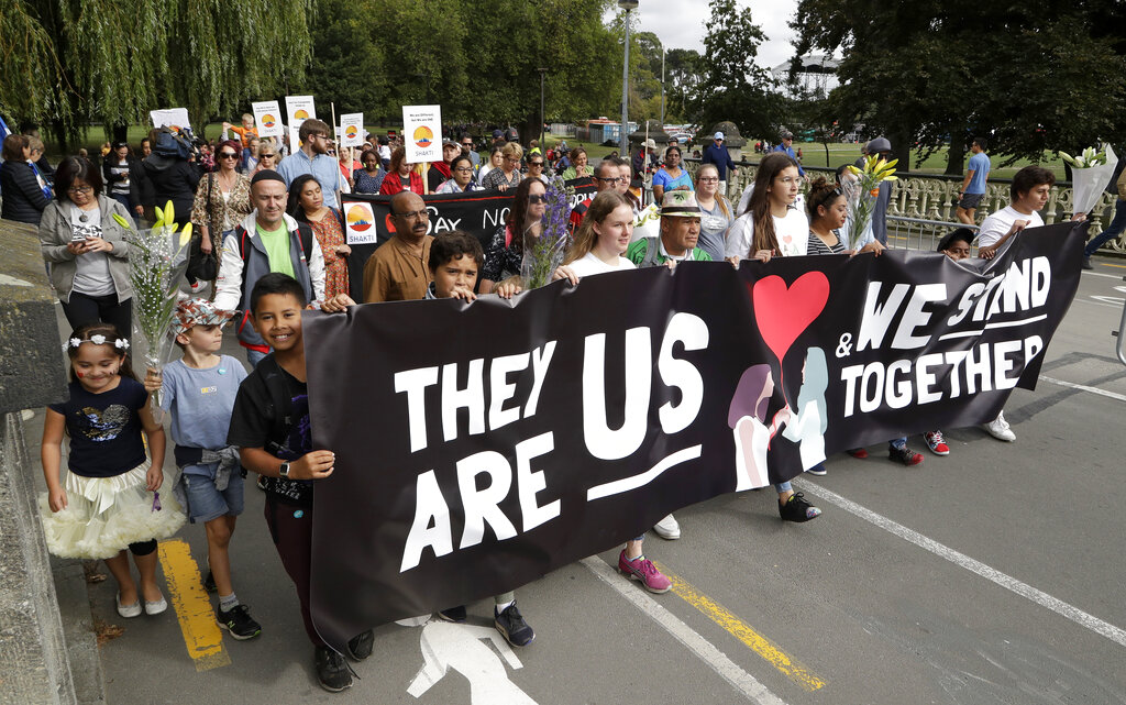 New Zealand marches for love