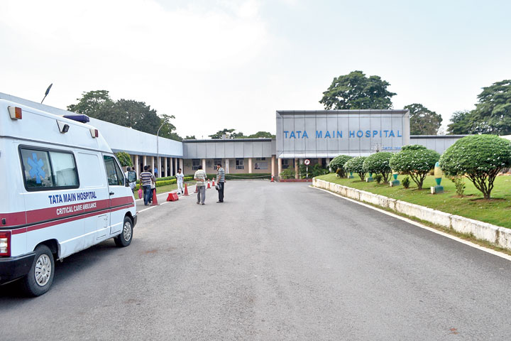 Tata Main Hospital where Syed Kaif was declared brought dead.