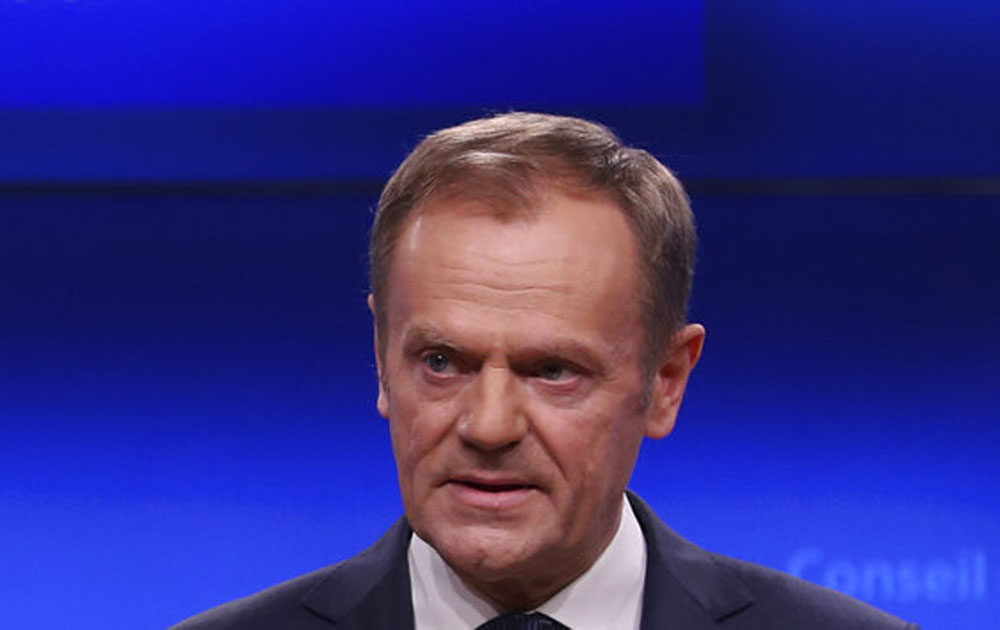 Place in hell for Brexiteers, says EU's Donald Tusk