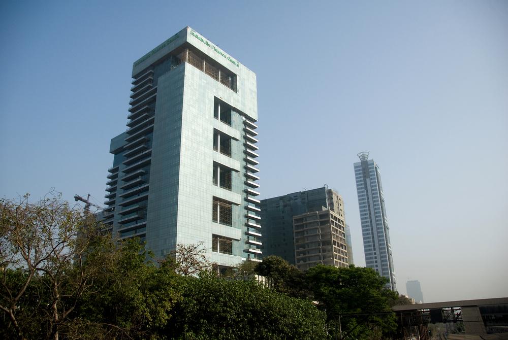 Indiabulls finance centre at Elphinstone Road, Mumbai, Maharashtra.