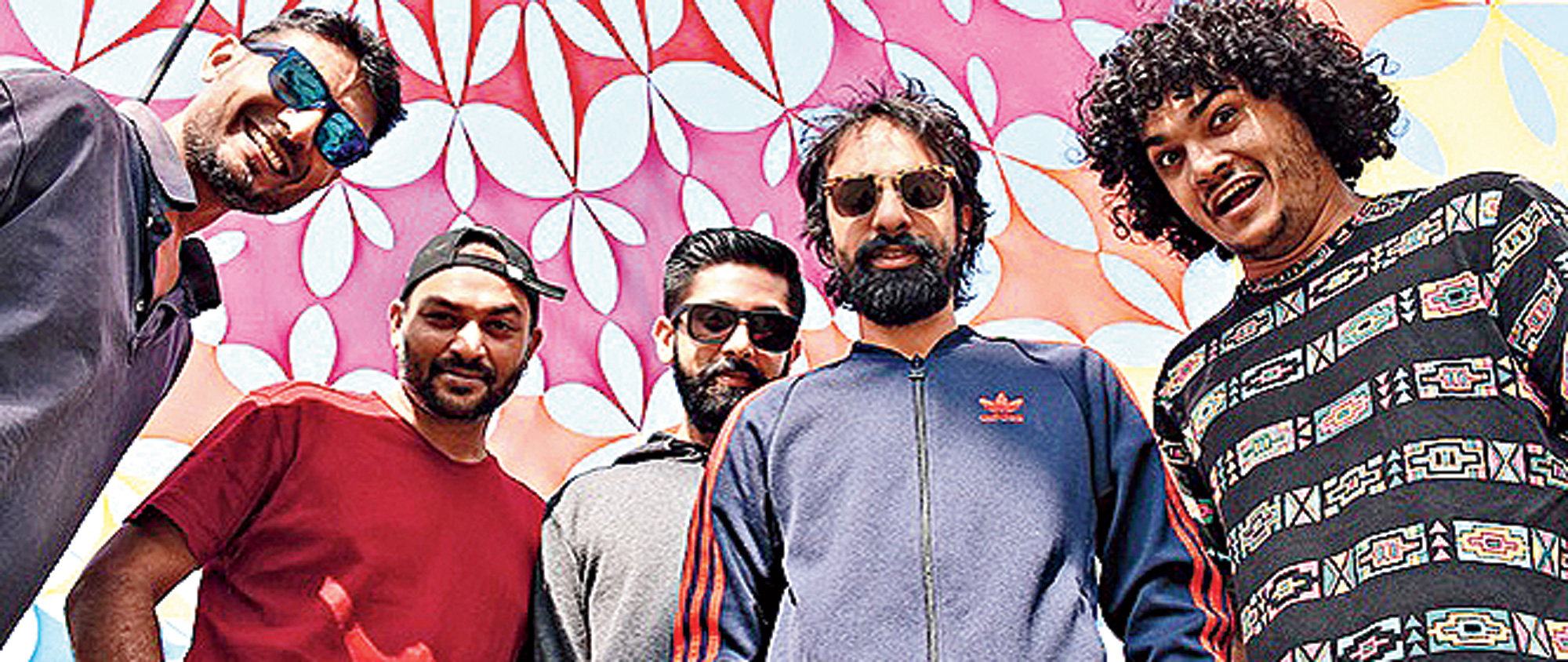 "Ankur & The Ghalat Family is known for its ""Urdu and Hindi easy acoustic ballads folk rock/rock 'n' roll""."