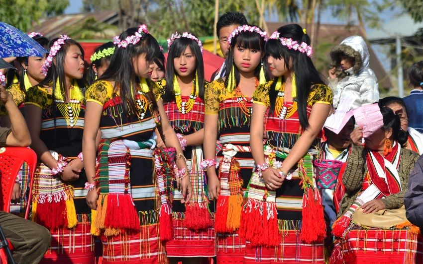The post-harvest Gaan Ngai festival is celebrated by the tribes from Assam, Manipur and Nagaland