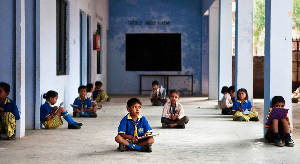 According to data provided by the Union ministry of human resource development last year, 62.1 million children were out of school in India.