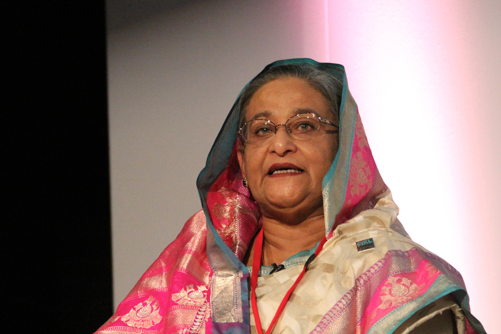 Sheikh Hasina is having to explain to her people what her country has gained for the long list of favours she has done to India