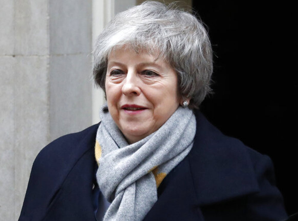 UK Parliament overwhelmingly rejects Theresa May's Brexit deal