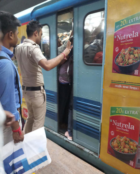 Door glitches have become the most common problem in the snag-prone fleet of Calcutta's transport lifeline.