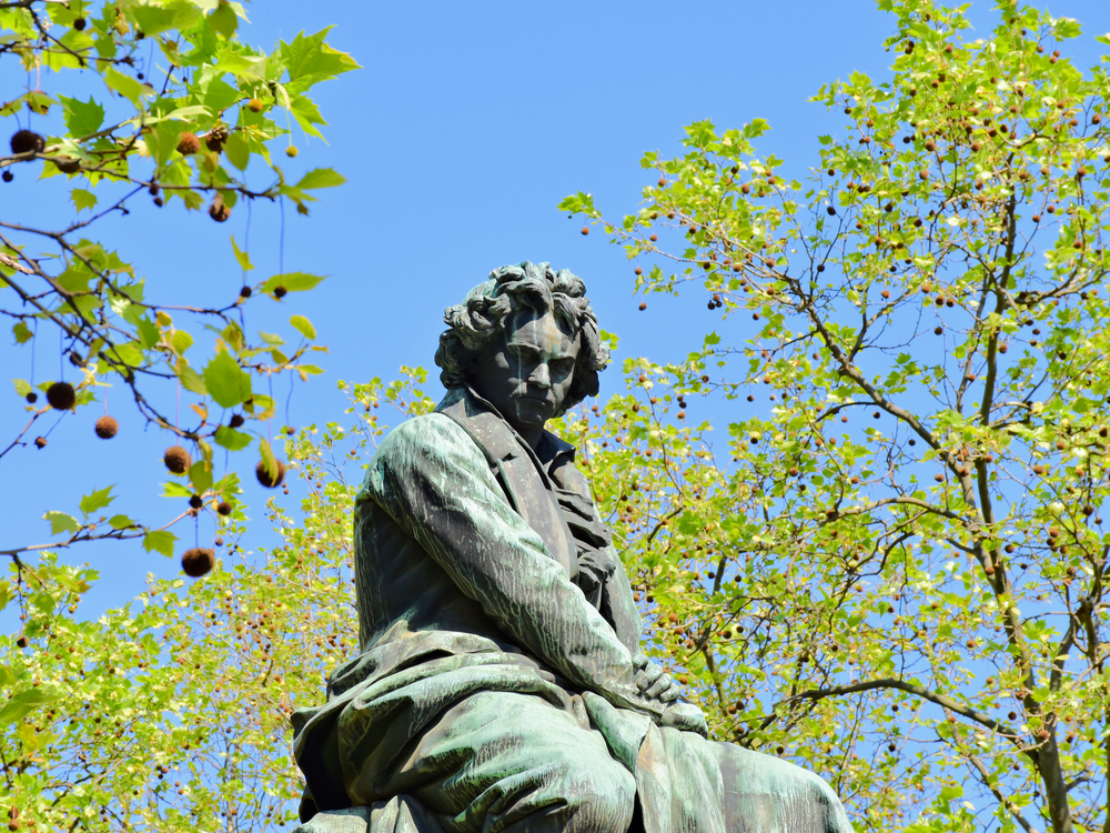 Beethoven Monument, Vienna.