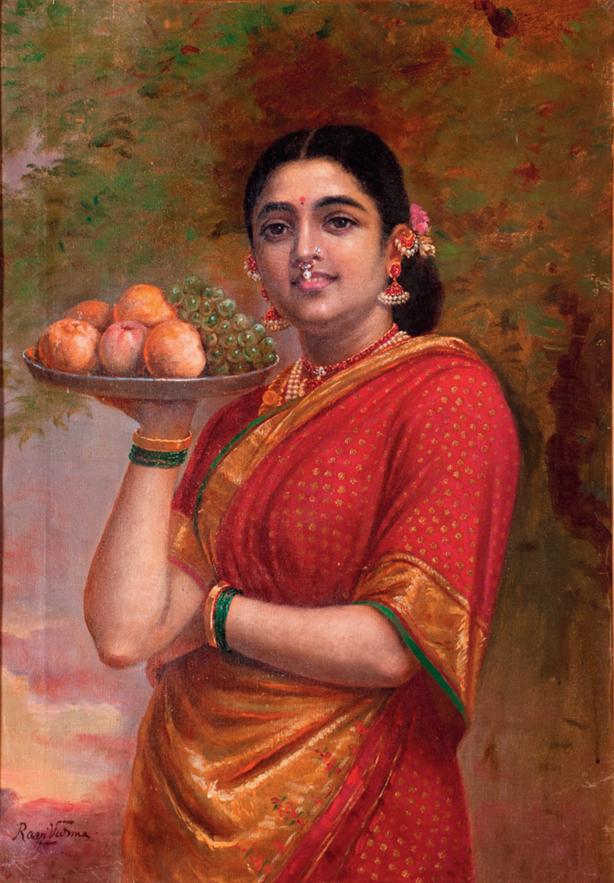 Raja Ravi Varma's painting 'Madri'