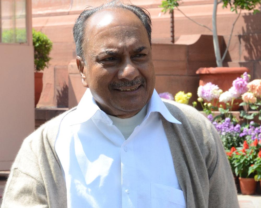 Senior Congress leader A. K. Antony