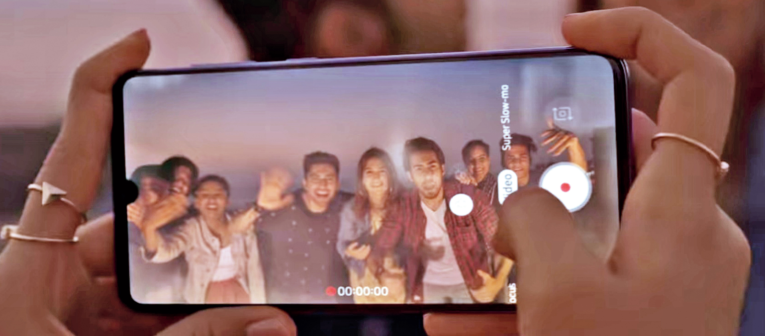 A screenshot of Samsung's 'India, Ready, Action!' campaign, which has picked up 50 million views on YouTube since its launch on May 9