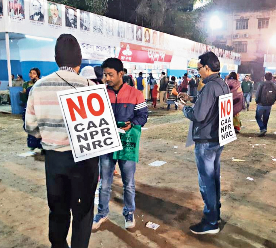 Activists make a beeline for book fair