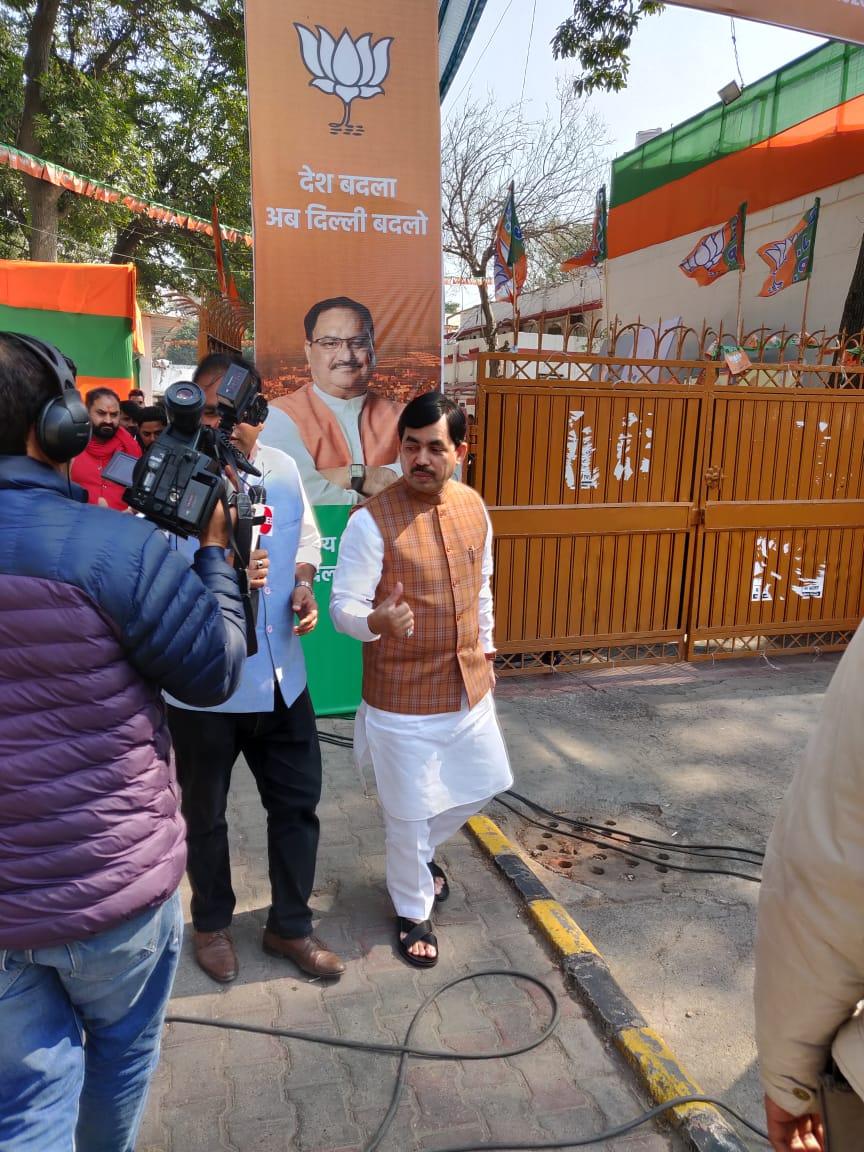Shahnawaz Hussain, BJP National Spokesperson