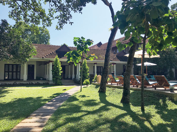 Traditional architecture with modern facilities at Flamingo Boutique Hotel, Marari