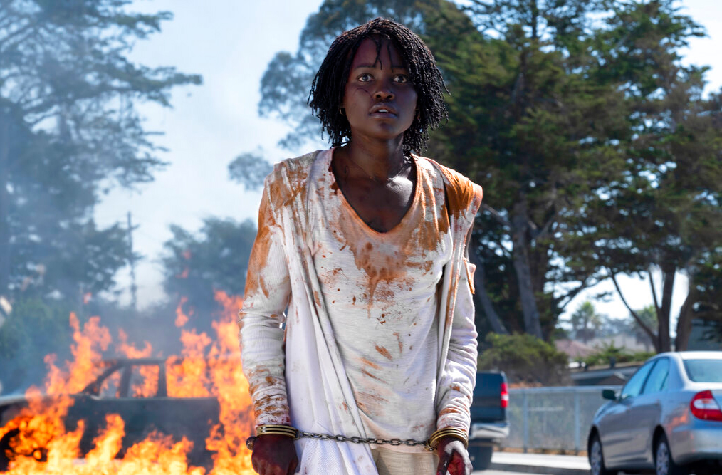This image released by Universal Pictures shows Lupita Nyong'o in a scene from