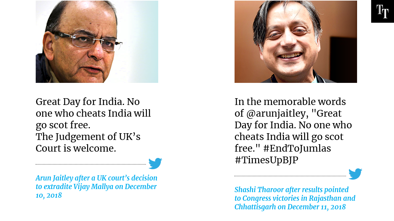 Tweets that returned to haunt the BJP after Assembly election results
