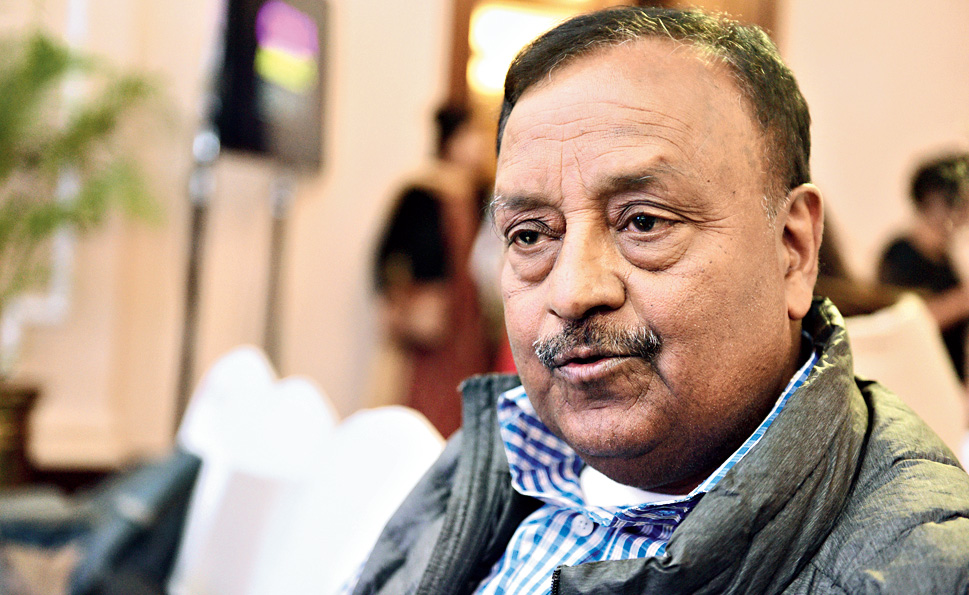 Bihar Museum president and chief adviser to the Bihar government, Anjani Kumar Singh, at the CIMA Awards Show 2019 at a city hotel on Saturday.